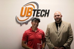 Allred's Landscaping and Construction Receives a UBTech Award