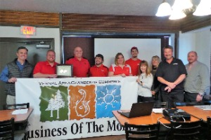 Business of the Month to Coca-Cola Bottling Company High Country.